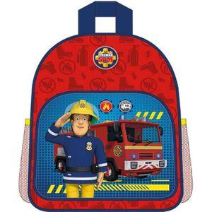 Camion de Pompier Sam Le Pompier Sac /à Dos /à roulettes pour Enfants Rouge