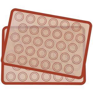 FEUILLE DE CUISSON  2Pcs Tapis de Cuisson en Silicone 42 x 29.5cm, Toi