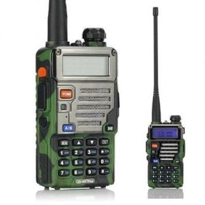 TALKIE-WALKIE 1 pcs Walkie Talkies BaoFeng UV-5R Plus Radio port