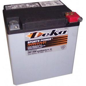BATTERIE VÉHICULE Batterie Vehicule - Deka - Batterie Harley AGM Dek