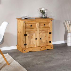 BUFFET - BAHUT  Buffet SALSA commode bahut vaisselier en bois styl