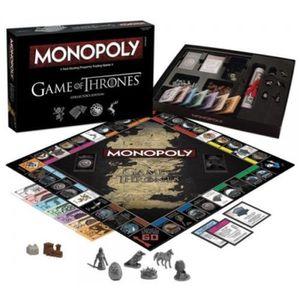 JEU SOCIÉTÉ - PLATEAU Jeu de société de Monopoly Game of Throne intéress