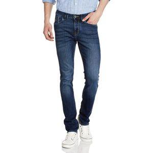 V par très Homme Coupe Skinny Braguette Boutonnée Jeans Foncé Bleu Vintage Taille 38 W//32 L