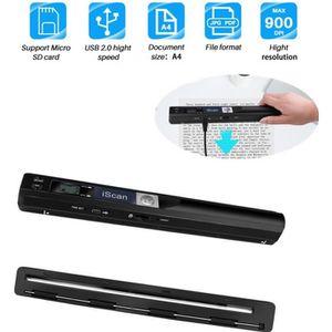 SCANNER 900DPI sans fil Handyscan Scanner d'image de docum