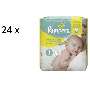 COUCHE Pampers Premium Protection New Baby Taille 1 Newbo