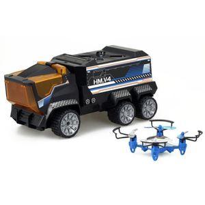 RADIOCOMMANDE SILVERLIT - Camion Radiocommandé & Drone Mission -