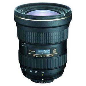 OBJECTIF Tokina AT-X 2/14-20 Pro DX C/AF pour Canon