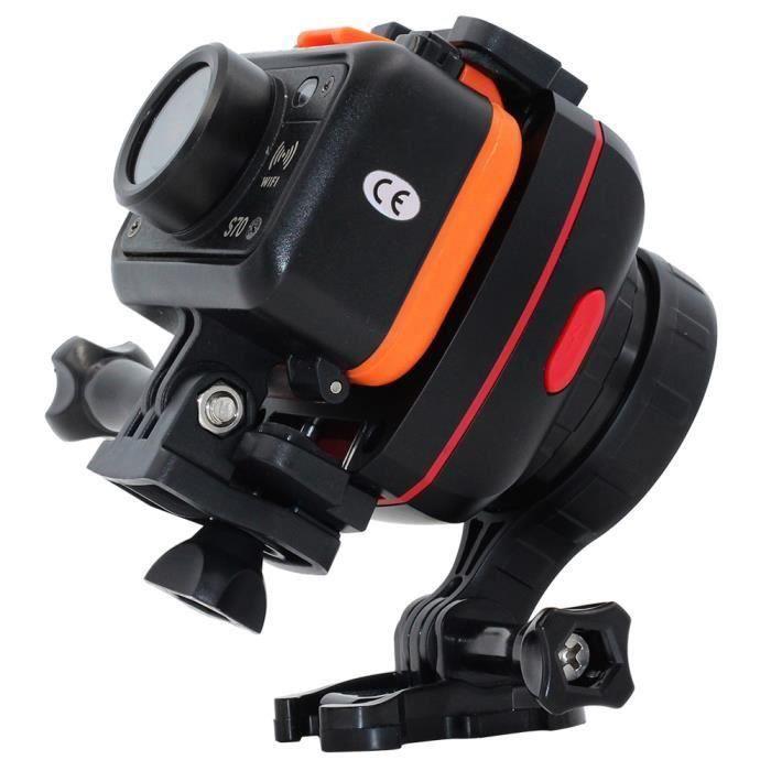 AIHONTAI® SOOCOO PS2 1 axe réglable Gryo stabilisateur Compatible avec tous les Sport Smart Camera Phone ID439