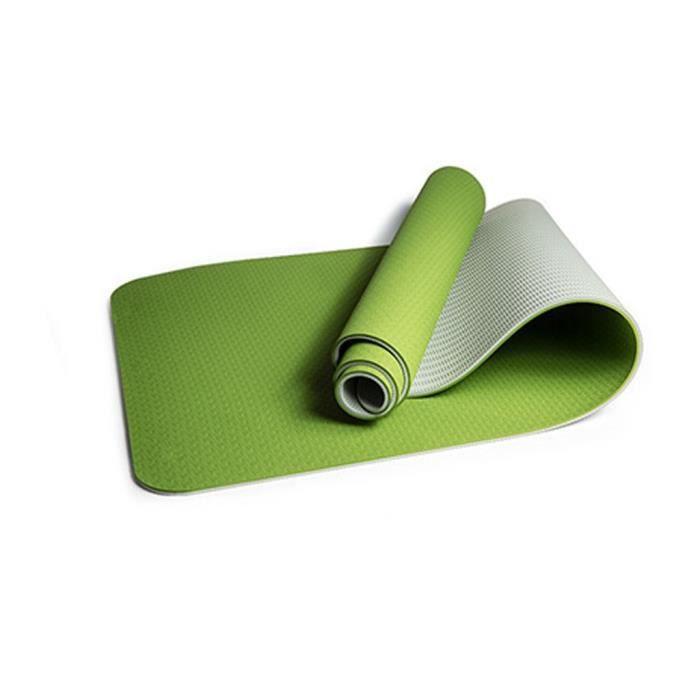 Tapis de yoga classique Yoga Mat Pro TPE Eco Friendly Antiderapant Fitness Tapis d'exercice Produit de yoga 07