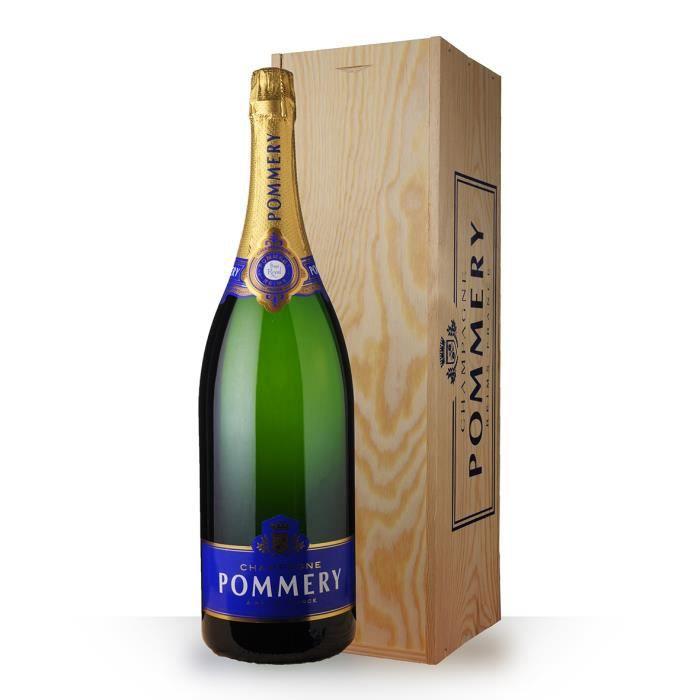 Pommery Brut 300cl jéroboam - Caisse Bois - Champagne