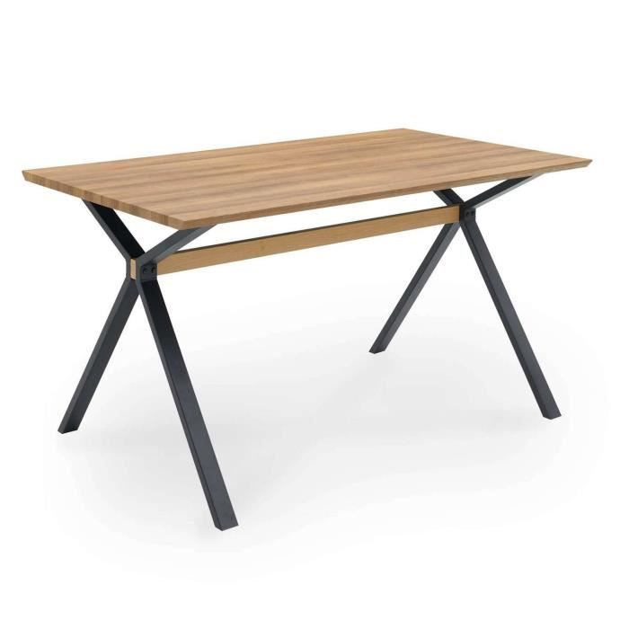 Table à manger design en bois