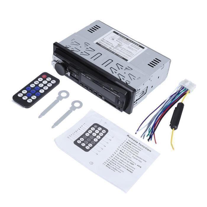CS Lecteur stéréo de voiture 12V radio numérique Bluetooth voiture stéréo lecteur AUX-IN FM - CSDFN823A2861