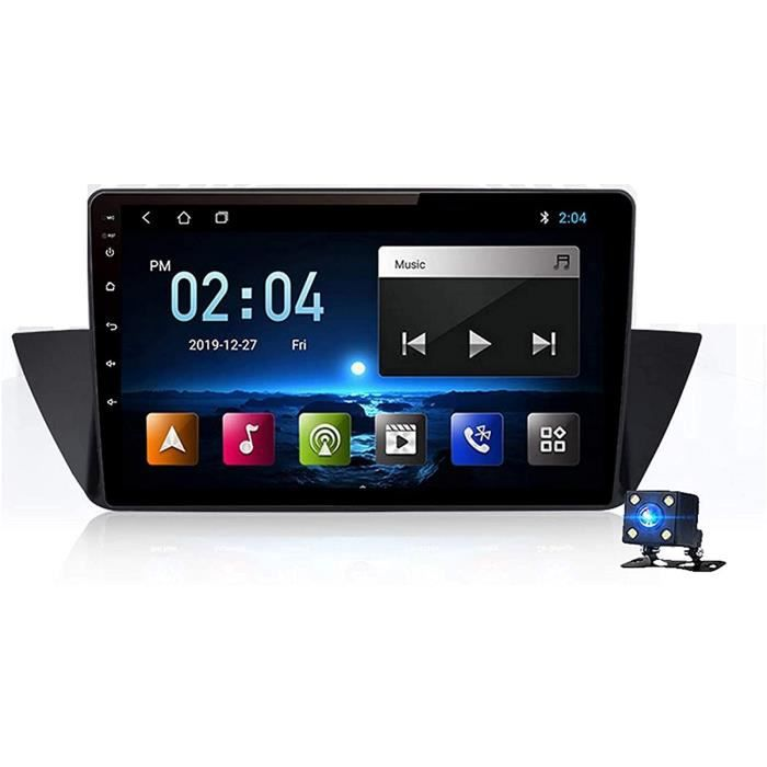 AUTORADIO Autoradio Double Din Android Navigation GPS voiture compatible avec BMW X1 E84 20092012 Lien miroir teacuteleacutephone464