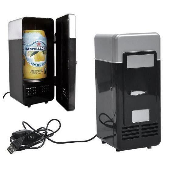 Design Populaire Mini USB Réfrigérateur Cooler Canettes de Boissons Cooler-Warmer Réfrigérateur pour Ordinateur Portable-PC LIE2342
