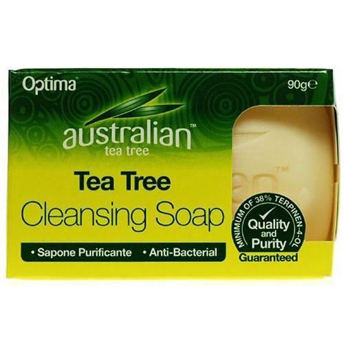 Australian Tree Tea savon nettoyant arbre thé australien 90g