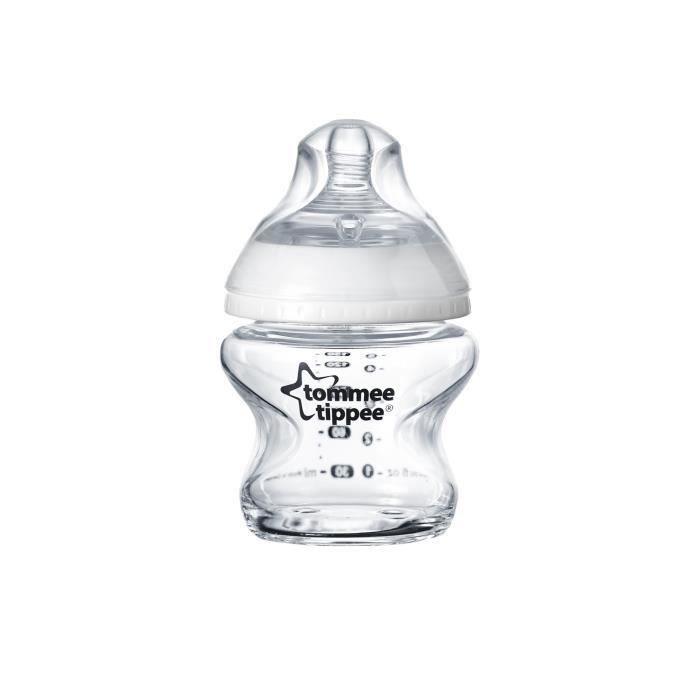 TOMMEE TIPPEE Biberon Verre 150ml (Lot de 2)