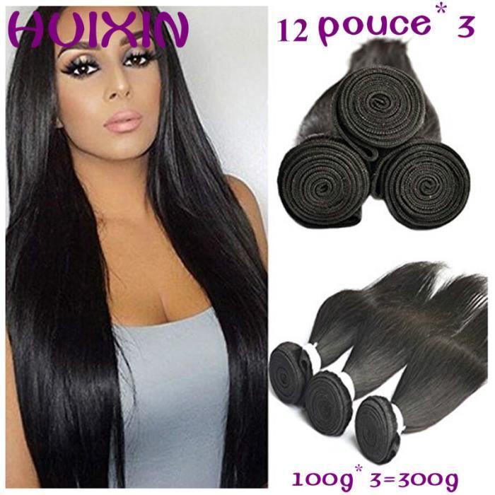 Cheveux Brésiliens Bundles de Cheveux Humains body wave 3 tissage 12pouce 30.4cm