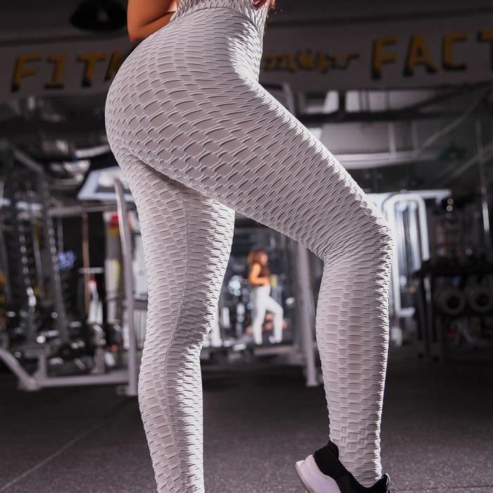 Leggings de Yoga Leggings de sports Leggings élastique Ultra confortable - gris XL