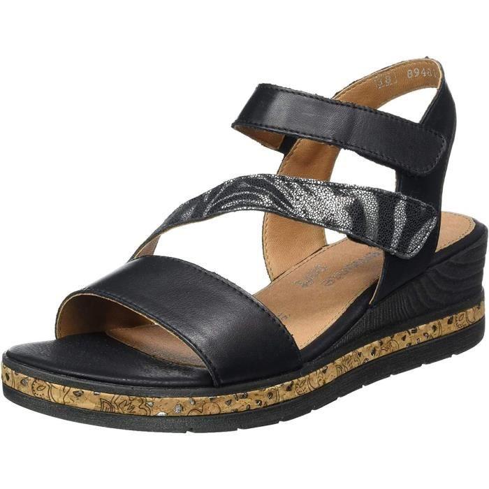sandales / nu-pieds lea femme remonte d3054