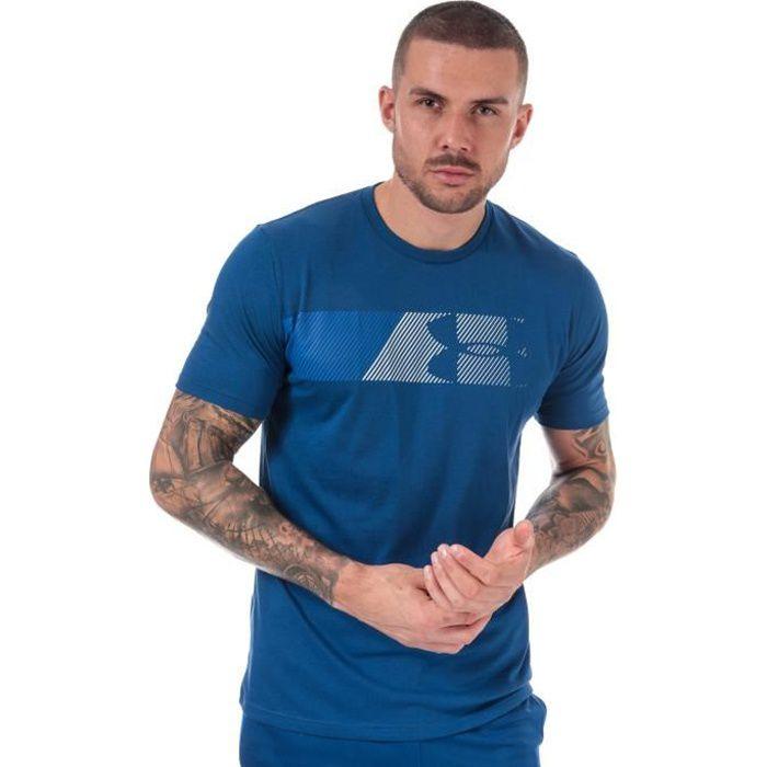 T-Shirt Under Armour Ua Fast Left Pour Homme En Bleu.
