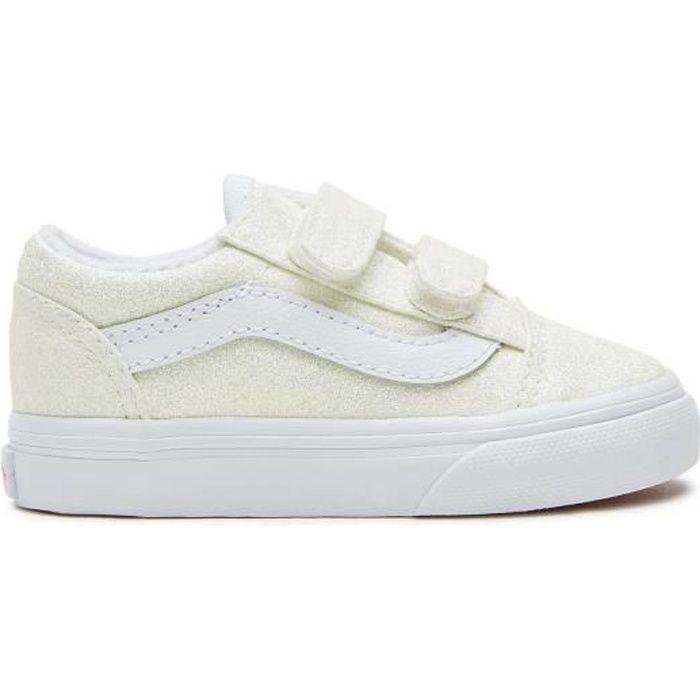 Vans Old Skool V Uv Glitter VN0A38JN3UA - Chaussure pour Petit Enfant