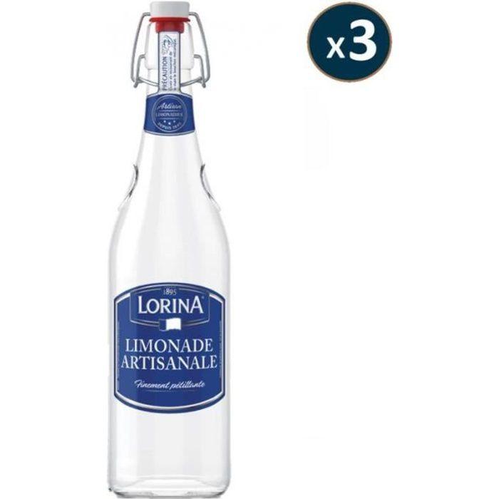 SOFT - LORINA LIMONADE ARTISANALE 3*75CL