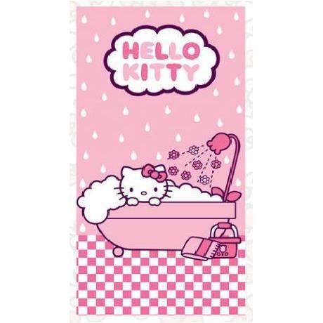 Drap de Plage Hello Kitty 140cm x 70 cm