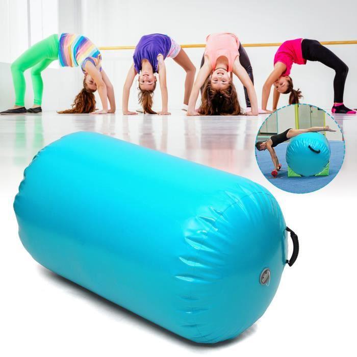 TEMPSA Gonflable Tapis Rouleau Gymnastique PVC Vert