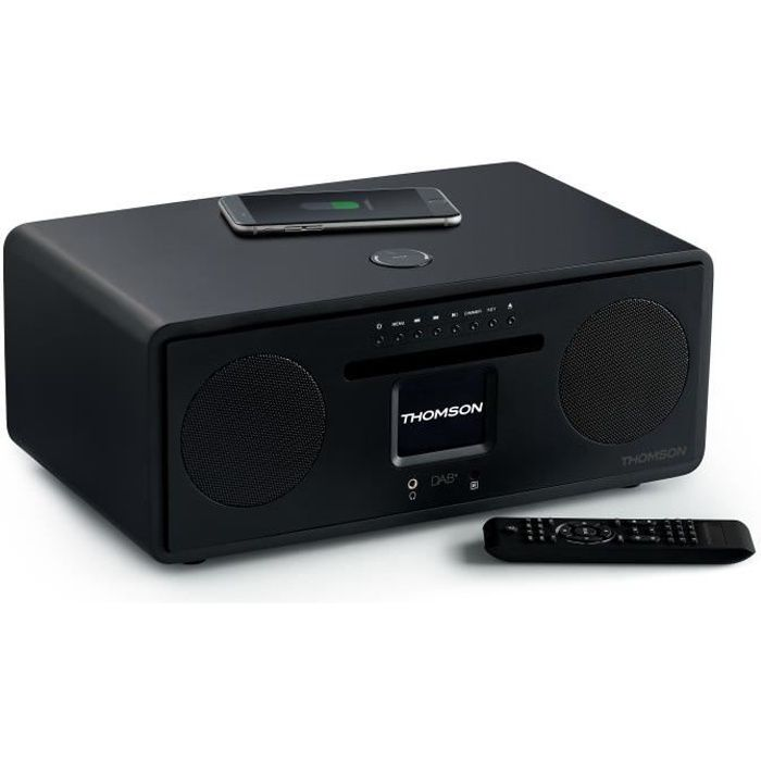 Thomson MIC500IWF Micro Chaine HiFi - Bluetooth - Wifi - Radio - CD - MP3 - USB - Induction