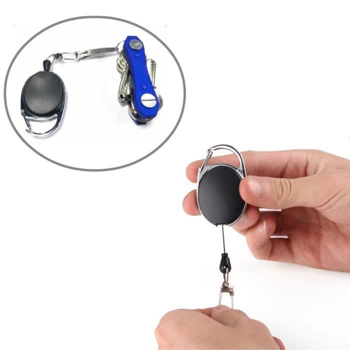 CLE EVEIL Porte-clés rétractable 1 pièce