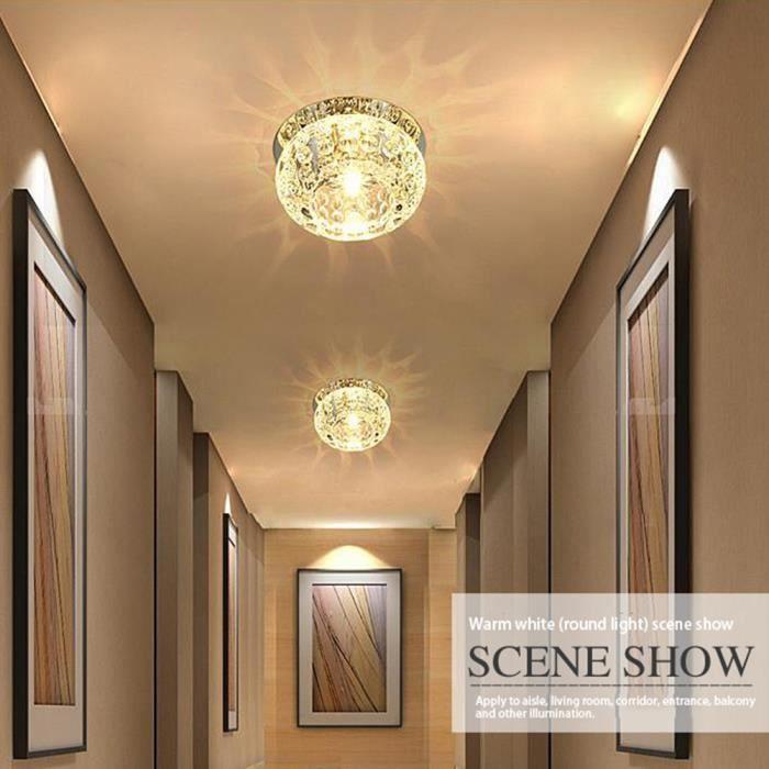 LED Lampe De Couloir En Cristal Avec La Forme Lanterne 5w ...