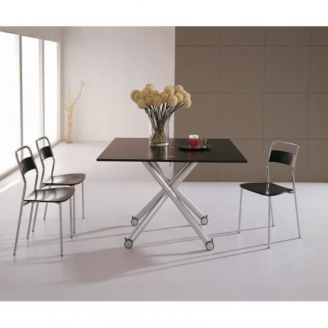 Table basse relevable wenge erika achat vente table - Table basse relevable cdiscount ...
