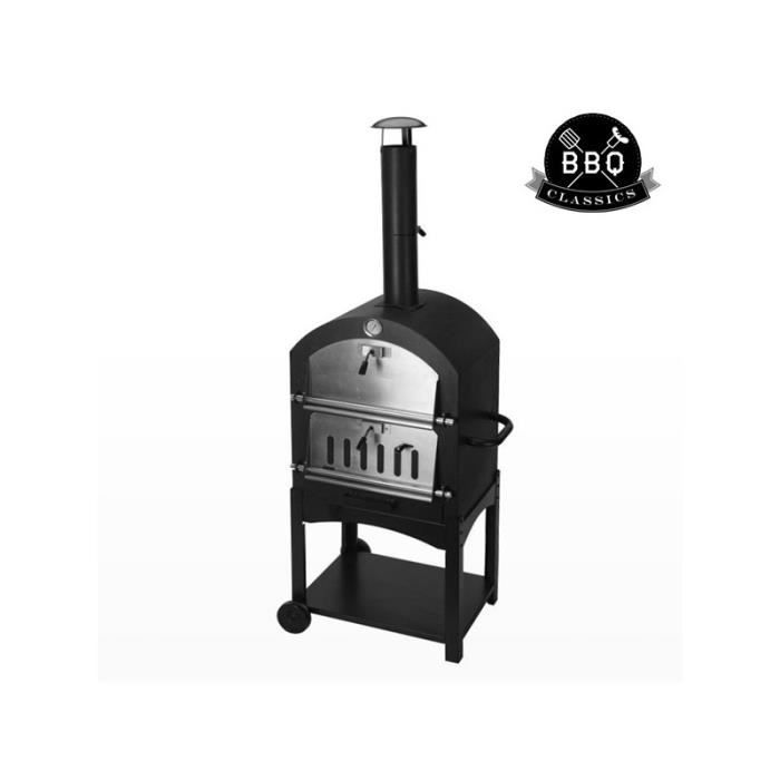 barbecue four a pizzas achat vente barbecue four a pizzas pas cher cdiscount. Black Bedroom Furniture Sets. Home Design Ideas