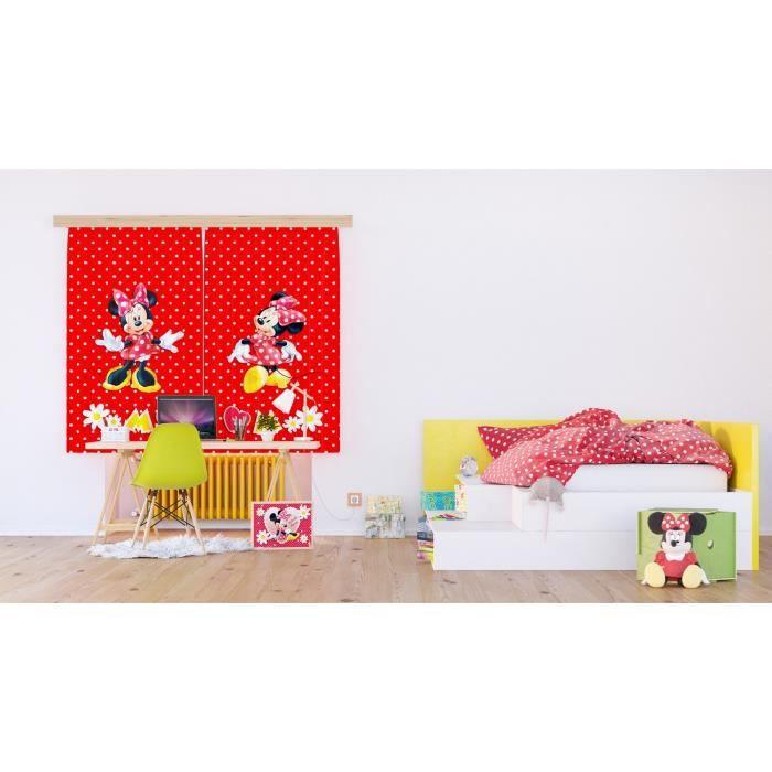 Rideau Rideau Fini Rideau Disney Minnie Mouse 140 x 160 cm