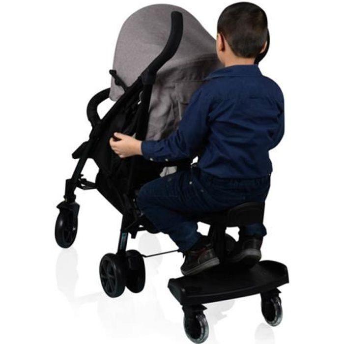 infantile Poussette Leg extension Booster b/éb/é Poussette Repose-pieds Assise Repose-pieds planches pour pliante l/ég/ère Poussette Accessoires