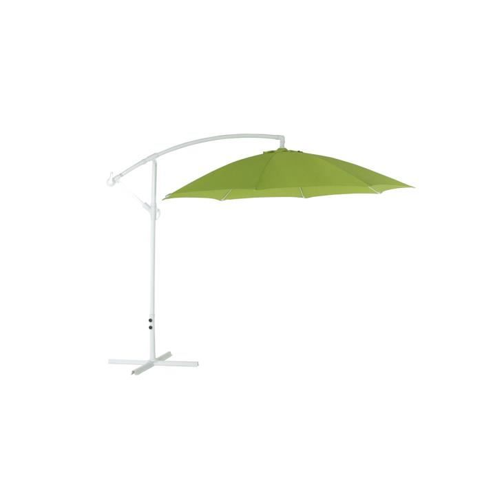 parasol excentr vert solex achat vente parasol parasol excentr vert solex cdiscount. Black Bedroom Furniture Sets. Home Design Ideas