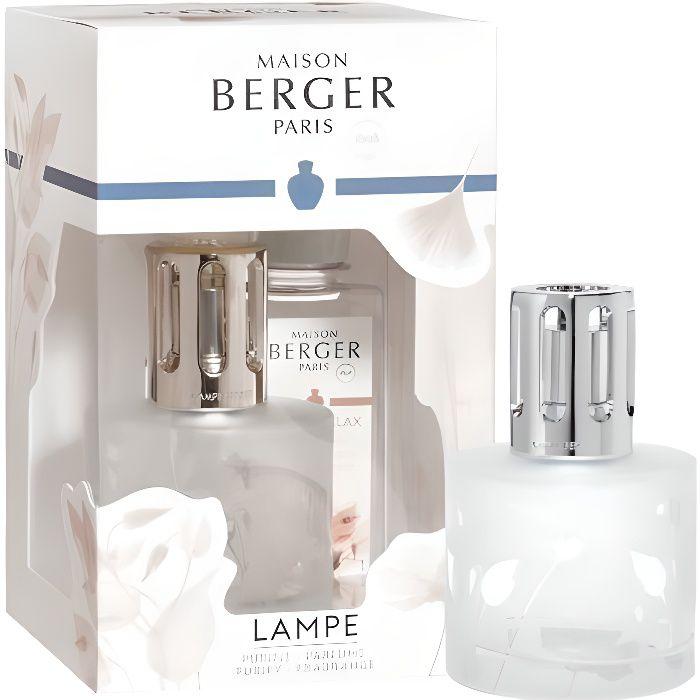 Verre 8,9/x 8,9/x 10,2/cm Lampe Berger Bougie parfum/ée Contact et Soyeux Noir
