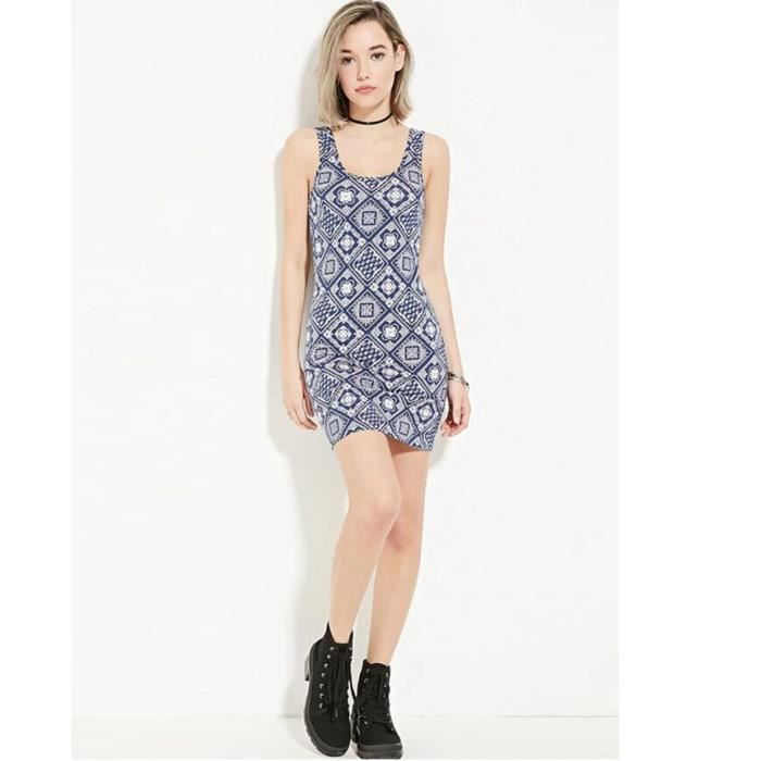 New Floral Women Imprimer Casual Hip Package Dress