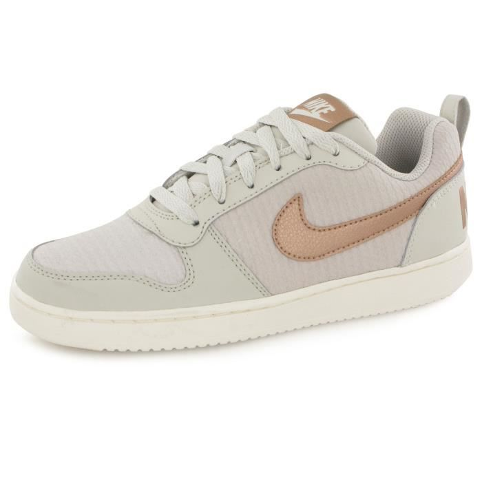 Miseria no usado Trampas  Nike Court Borough Prem beige, baskets mode femme Beige - Achat ...
