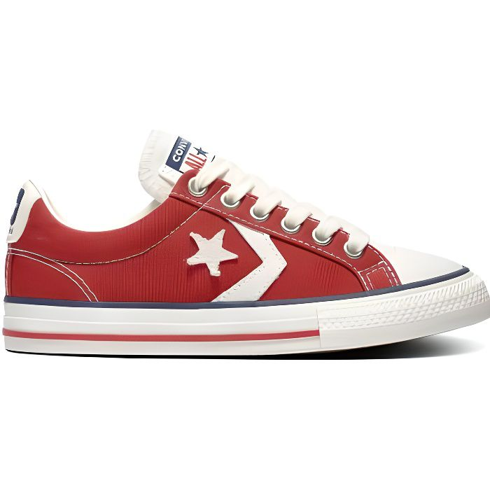 converse femme rouge basse