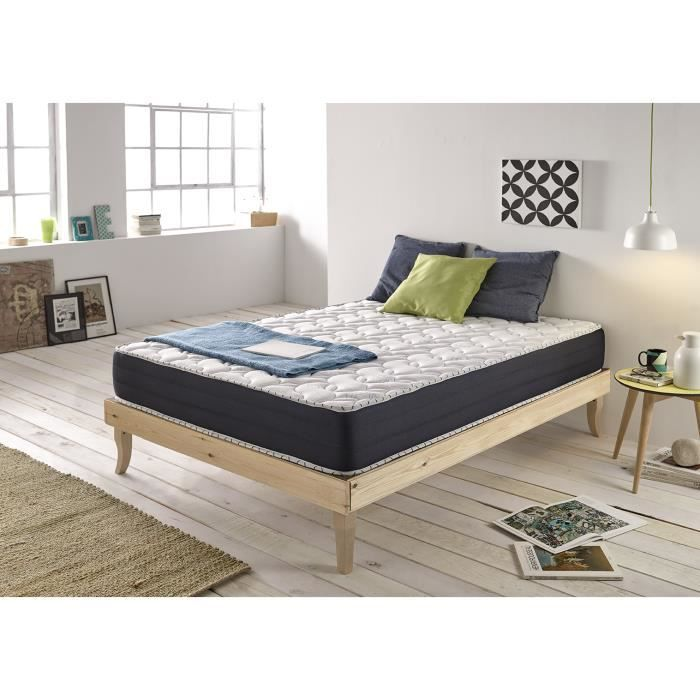 matelas m moire de forme aero memory 180x200 cm de naturalex 24 cm confort mi ferme achat. Black Bedroom Furniture Sets. Home Design Ideas