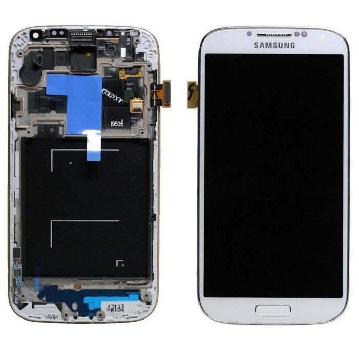 Ecran lcd vitre tactile samsung galaxy s4 i9505 d for Photo ecran samsung 7