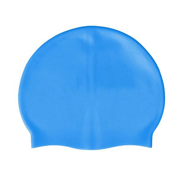 bonnet de bain en silicone bleu de taille unique achat. Black Bedroom Furniture Sets. Home Design Ideas