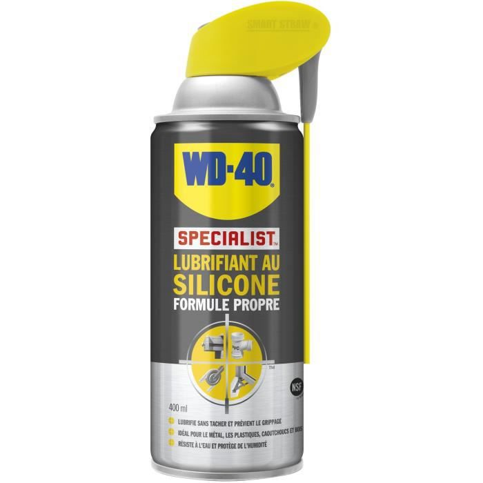 lubrifiant au silicone wd 40 400 ml achat vente lubrifiant moteur lubrifiant au silicone. Black Bedroom Furniture Sets. Home Design Ideas