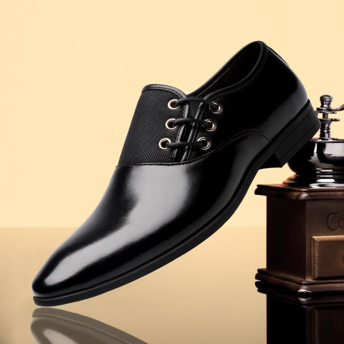 IZTPSERG Cuir Homme mocassin chaussures busines...