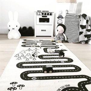 TAPIS DE JEU Tapis de Jeu Pour Bébé Enfant Circuit Voiture de C