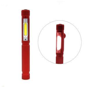 LAMPE DE POCHE Mini COB LED Light Work Atelier torche à base magn