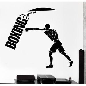 STICKERS Sacs de sable Sport Boxe Martial Arts Creative Art