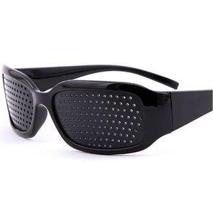 Lunettes De Repos À Trous Trame Sténopé Microorifice Vision Des Yeux Glasses