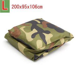 Housse de Protection B/âche pour ATV Quad Imperm/éable /Étanche Anti-UV Sac de Rangement inclus 220*98*106 CM camouflage XXL